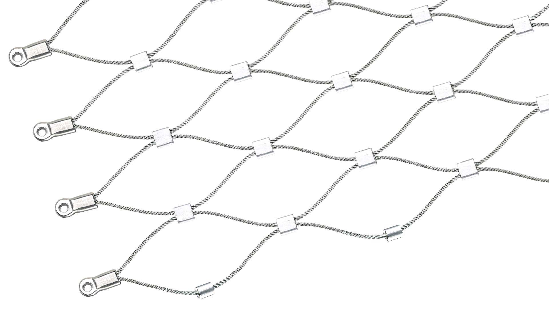 Stainless steel wire mesh by Jakob Rope Systems