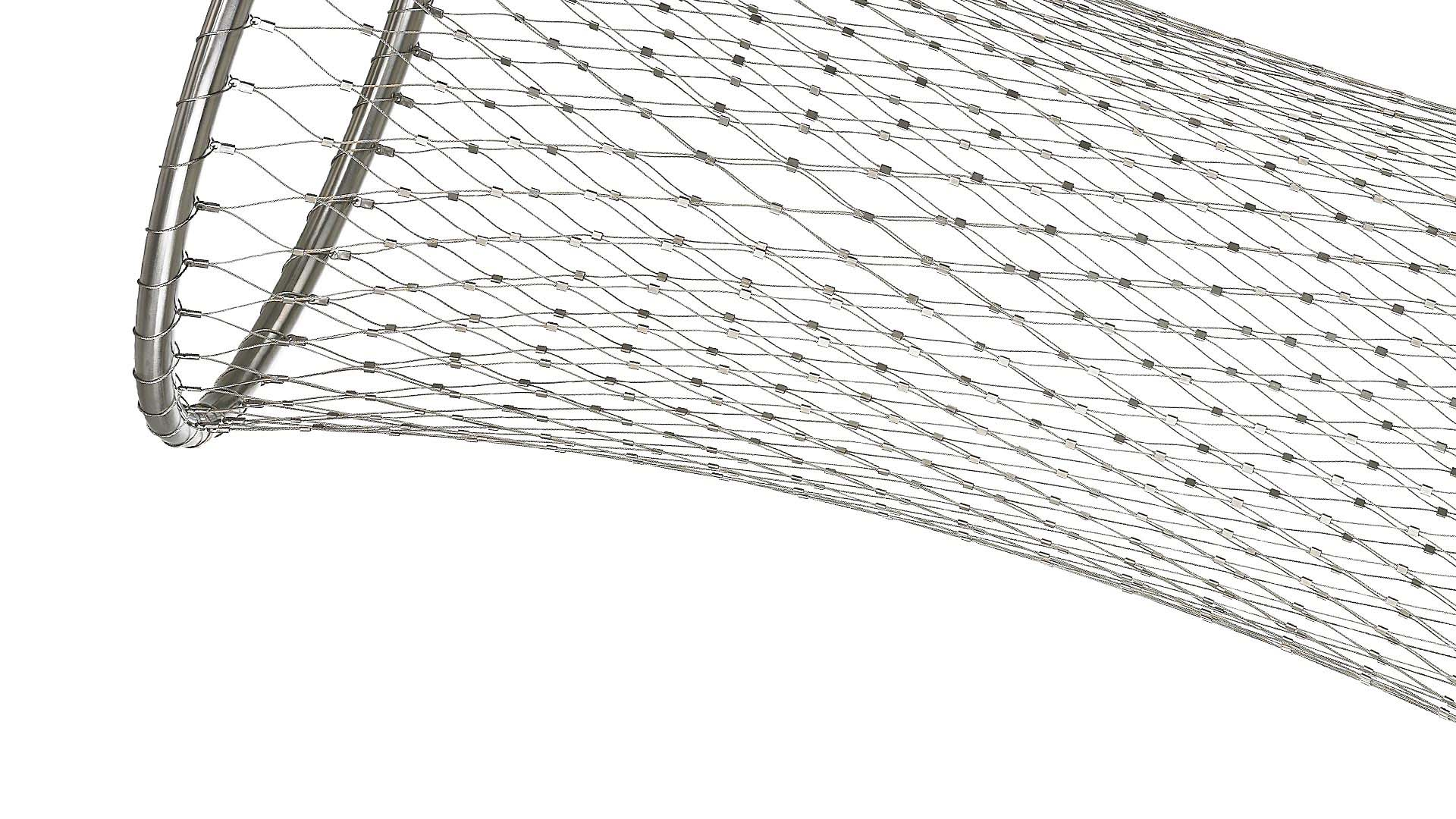 Ball stop nets, playgrounds and more with stainless steel nets