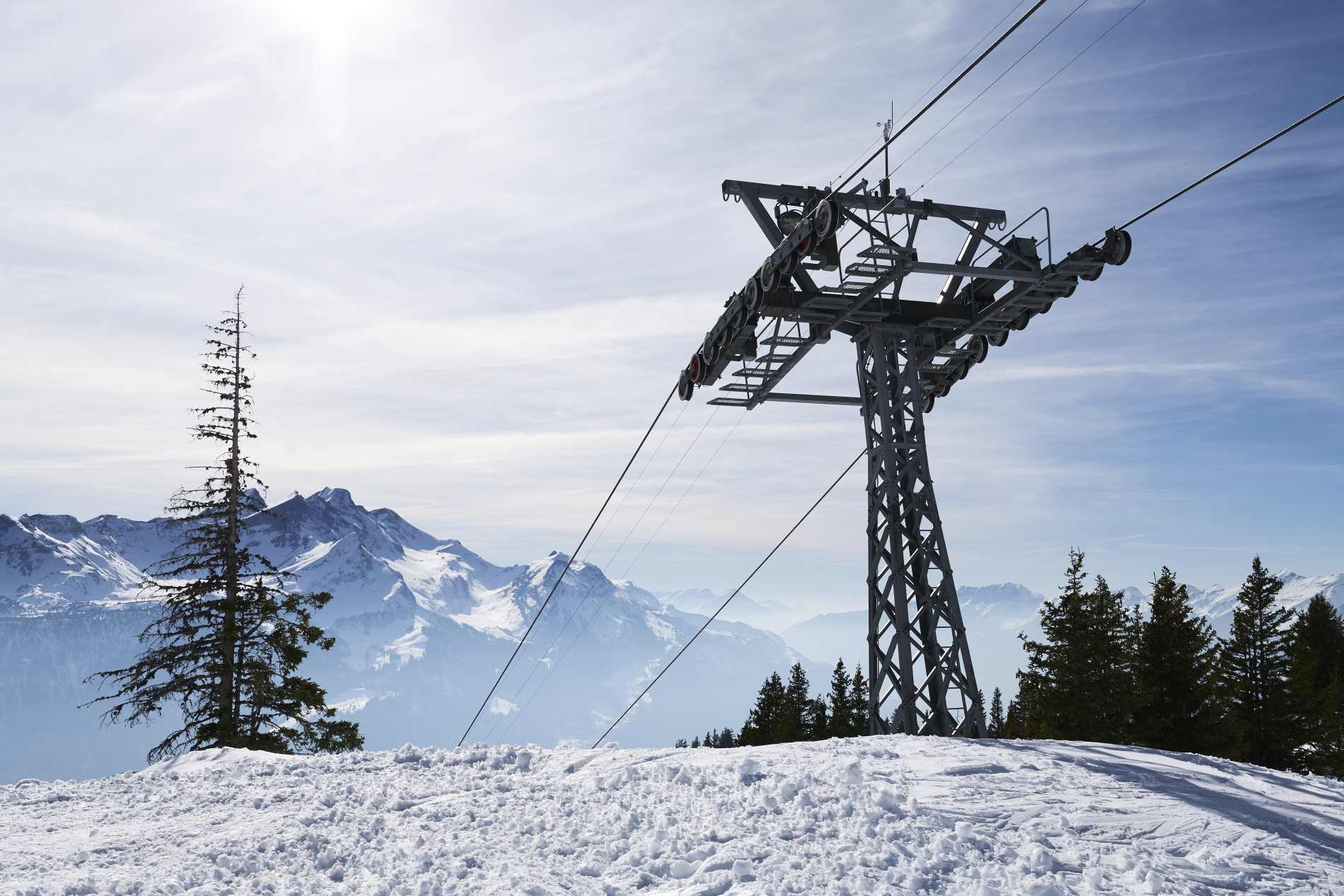 Jakob Rope Systems Hasliberg cable cars