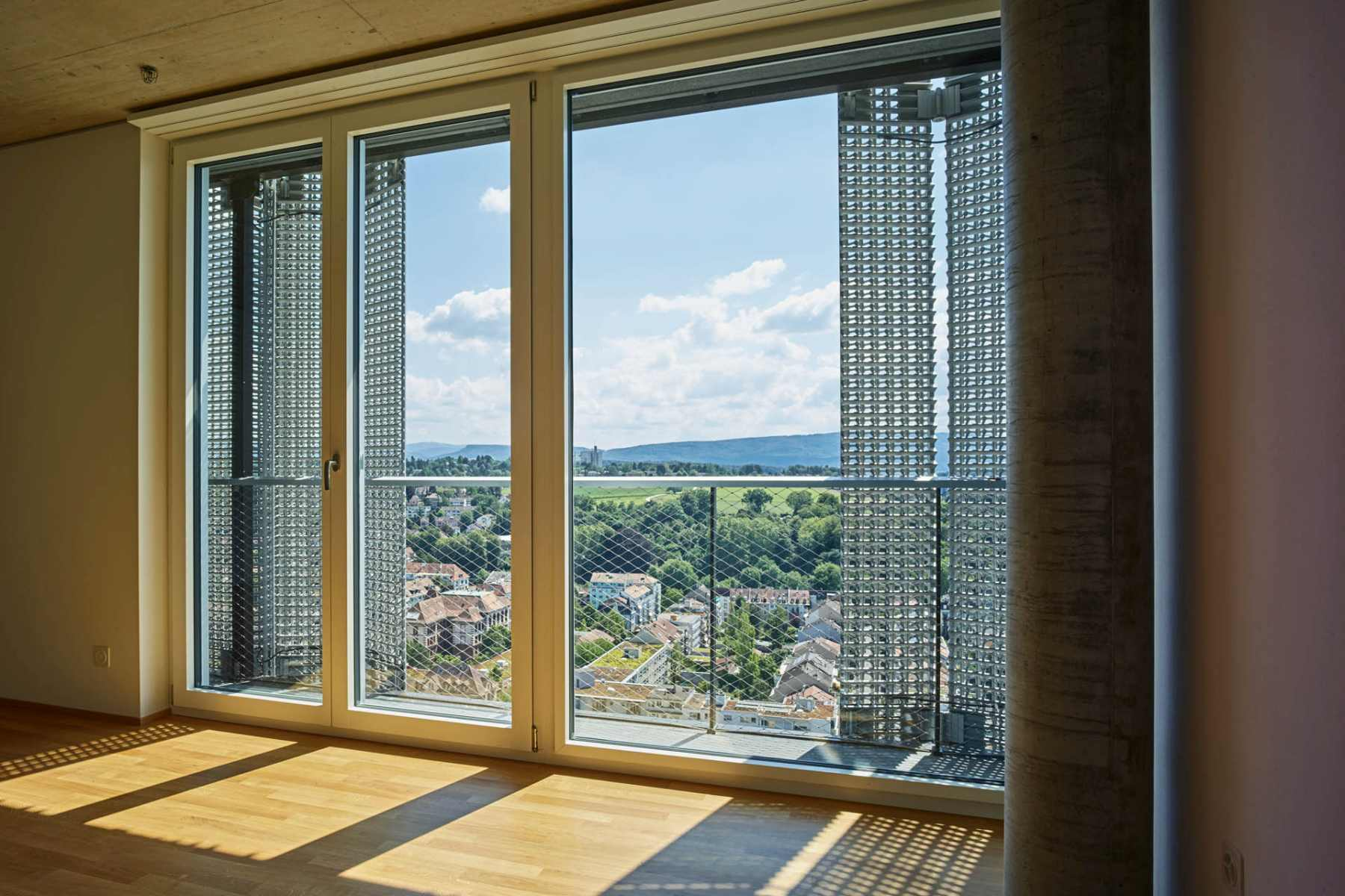 Jakob Rope Systems MOH tower Basel Webnet Frames balcony