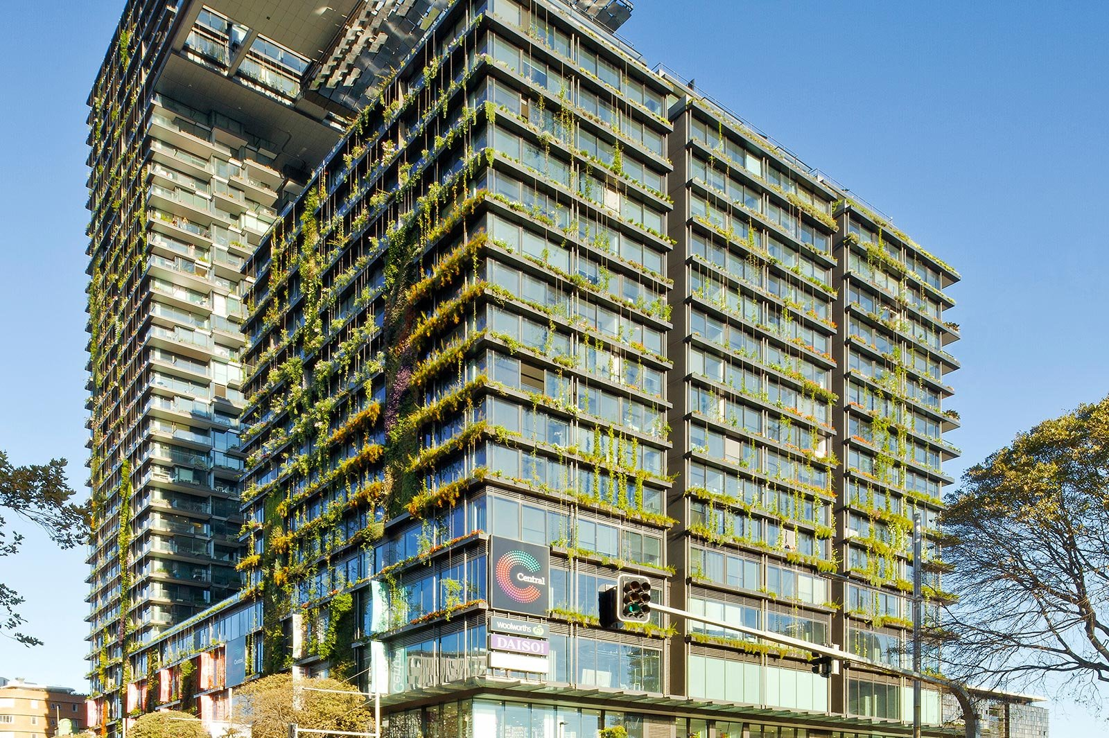 One Central Park Tower with Green Solutions by Jakob Rope Systems
