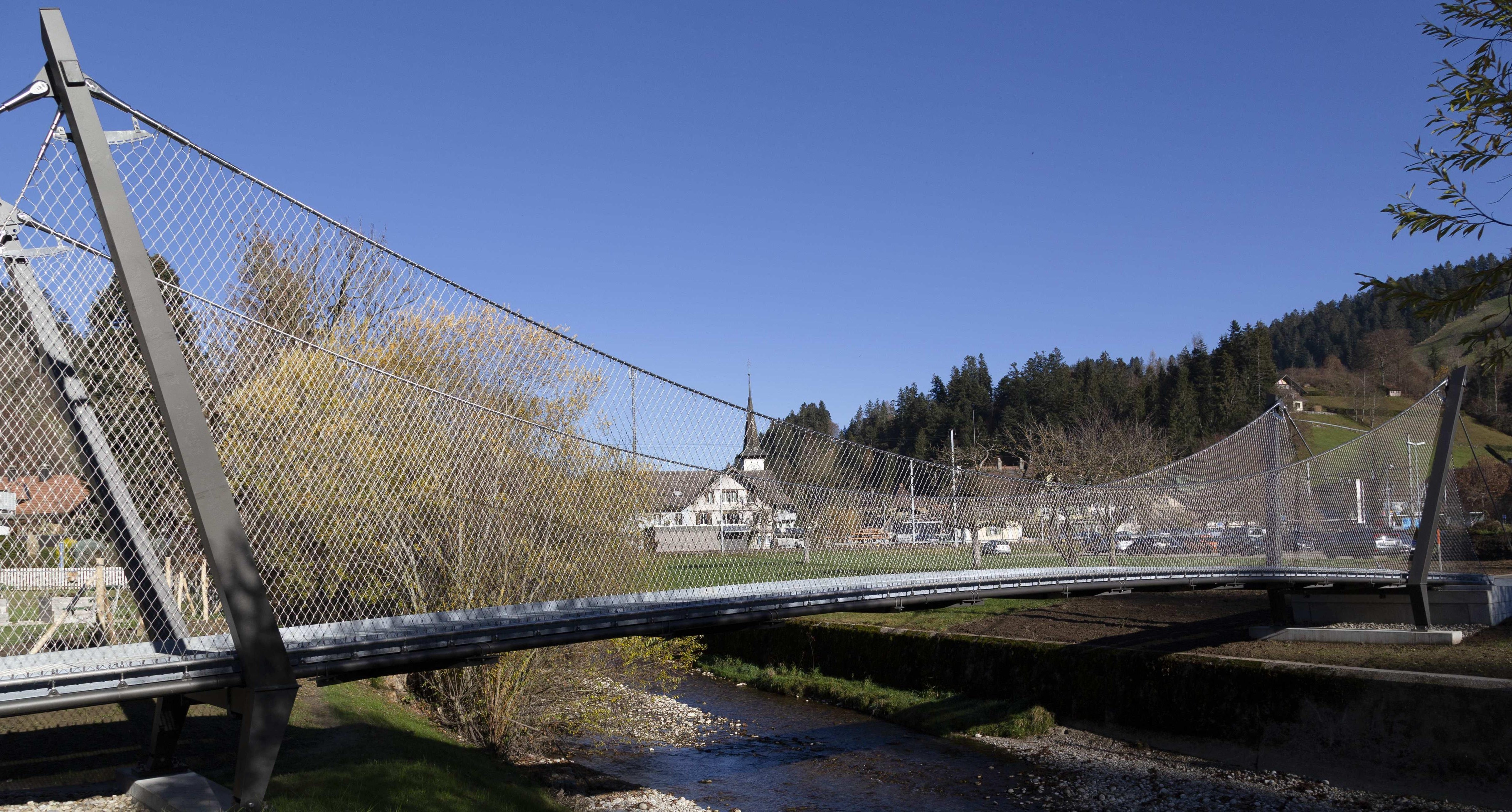 The Webnet bridge in Trubschachen
